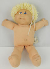 Vintage 1982 Cabbage Patch Doll Blonde Hair Girl No Clothing