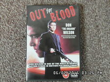 OUT FOR BLOOD - DON WILSON - DVD - World Kickboxing Champion
