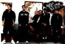 NEW FOUND GLORY Colour Band Photo Sticker  NEW MERCHANDISE OFFICIAL RARE NFG