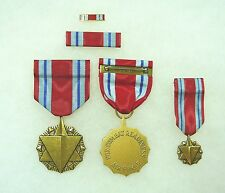 Agency, Department of the Air Force Combat Readiness Medal, set of 4
