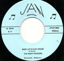 The Night Rockers - Baby Lets Play House / E-String Boogie Jan Rockabilly Hear