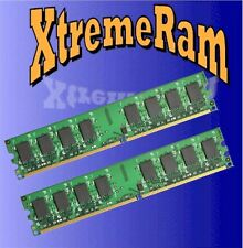 4GB DDR2 PC2-6400 PC 6400 800 Mhz 240Pin LOW DENSITY RAM 2x 2GB Desktop Memory