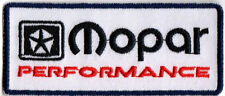 MOPAR CHRYSLER PLYMOUTH DODGE DESOTO CHALLENGER HEMI EMBROIDERED IRON ON PATCH