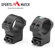 Sportsmatch HTO74 Mounts Two Piece 15mm Dovetail CZ527/Fox High 30mm Tube