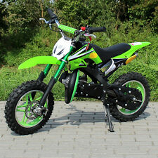 "MINI CROSS 50CC MOTO MINI BENZINA RUOTE 10"" CROS ENDURO MOTO MINI"