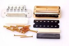 Gretsch vintage filtertron pickup DIY kit oro (org. Gretsch pat. no. cover)