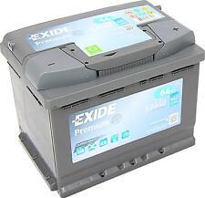 EXIDE PREMIUM Carbon Boost EA640 12V 64Ah Erstausrüster neuste Generation A-C