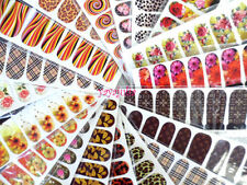 7 Nail Art Decal Stickers Water Slide Tattoo Transfer Random Full Size