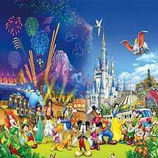 Carnival Disney 8'x8' CP Backdrop Computer-painted Scenic Background zjz-455