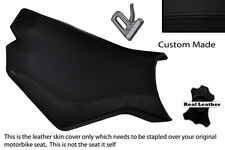 BLACK STITCH CUSTOM FITS KTM SUPERDUKE 990 R 07-12 FRONT RIDER SEAT COVER