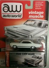 `66 Mercury Comet Cyclone White 1966 **RR**JL Auto World 1:64 OVP  **SALE**