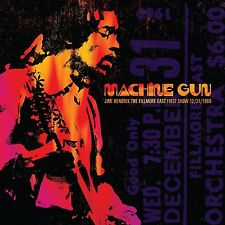JIMI HENDRIX - MACHINE GUN JIMI HENDRIX THE FILLMORE EAST 12/31/1   CD NEU