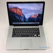 """Apple 2012 MacBook Pro 15"""" 2.3GHz I7 256GBSSD 16GB MD103LL/A + C Grade +Warranty"""