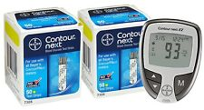 Contour Next Test Strips 100 Count Plus Contour Next EZ Meter (2x50) EXP: 8/2017