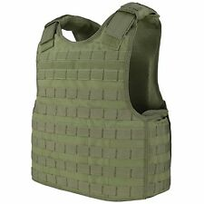 Condor OD Green DFPC Tactical Ops Defender MOLLE Body Armor Plate Carrier Vest