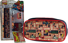 Marvel Avengers School Pencil Case And Stationery Gift Set