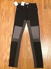 NWT $229  23  Paige DARK ROOM Color Block Skinny Jeans