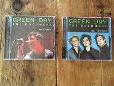 THE DOCUMENT GREEN DAY NEW CD + DVD Chrome