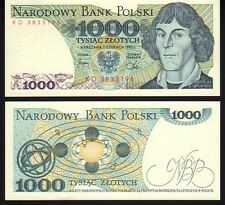 Poland 1000 Zlotych 1982 Pick146c Mint Unc