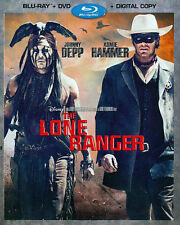 The Lone Ranger (Blu-ray/DVD 2013) Walt Disney - Armie Hammer, Johnny Depp