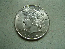 1922    UNITED  STATES  'SILVER   PEACE  DOLLAR.....................'K'mb