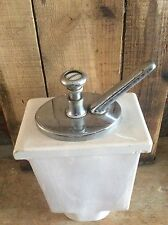 Vintage Soda Shoppe / Ice Cream Parlor Porcelain Strawberry Syrup Dispenser