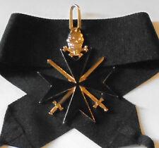 Medieval Black Knight Templar Memento Crusades Holy War Skull Death Battle Medal