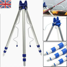 New Fishing Rods Tripod Stand for Sea Beach Coarse Shore Pier Tackle Telescopic