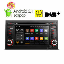 Quad Core Car Stereo DVD Android 5.1 GPS Auto Standard Radio for AUDI A4 S4 RS4