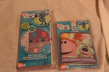 NEW NICK JR BLUES CLUES ROOM 1 ROLL BOARDER & 6 PACK  ROOM APPLIQUES OR STICKERS