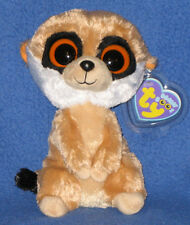 TY BEANIE BOOS BOO'S - REBEL the MEERKAT - MINT with MINT TAGS 6""