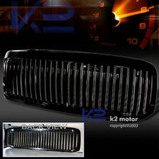 1999-2004 Ford F250 Black Vertical Grill Grille ABS