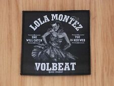 VOLBEAT - LOLA MONTEZ (NEW) SEW ON W-PATCH OFFICIAL BAND MERCH