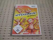 Affenzirkus (20 Spiele) für Nintendo Wii und Wii U *OVP*