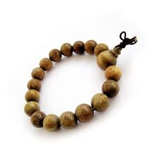 Green Sandalwood FO Buddha Word Beads Tibet Buddhist Prayer Bracelet Mala