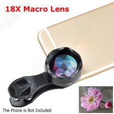 APEXEL 18X Zoom Clip-on Macro Lens Professional For Universal Smartphone Samsung