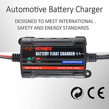 0.75A  Automatic Battery Trickle Charger  Maintainer for Cars ATV, RV Boat Motor