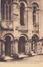 BF11502 la tour du porche facade  saint benoit sur loire france front/back image