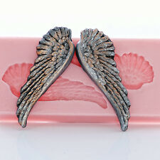 Wing Silicone Mold Flexible Food Safe Angel Wing Mold Craft Resin Jewelry  (846)