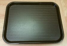 "Carlisle (NCT 1418) Brown Fast Food Cafeteria School Lunch Tray! 18"" x 14"""