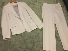Ladies Women's Formal Suit Jacket Size:12 / Trousers Size:10 Dorothy Perkins