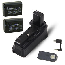 Vertical Battery Grip Holder +2 * NP-FW50 For Sony A6000 DSLR Camera as BG-3DIR