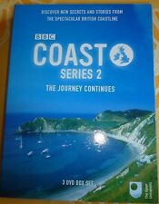 Coast - Series 2 - The Journey Continues - Complete (DVD, 2006, 3-Disc Set) BBC/