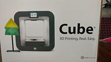 NEW 3D Systems Cube 3D Wireless Printer, 3rd Generation, White, Windows and MAC