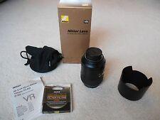 Nikon 105mm F/2.8 af-s vr if ed g macro/micro lens