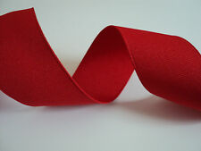 Red Grosgrain Wired Ribbon, Bows, Valentines Decorative, Crafts