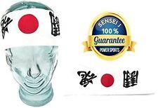 New Takashi KENDO Tenugui Samurai 200cm (Hachimaki - Hissho Victory) Cotton