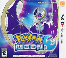 Pokemon Moon Nintendo 3DS Game NEW (US version NTSC Multi-Language) IN STOCK NOW