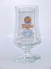 OLD EDITION - 1 x Singapore beer glass - Tiger Beer Wine Champagne glass