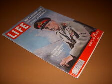 Life Magazine, October 13, 1958, Field Marshal Viscount Montgomery Cover, WWII!